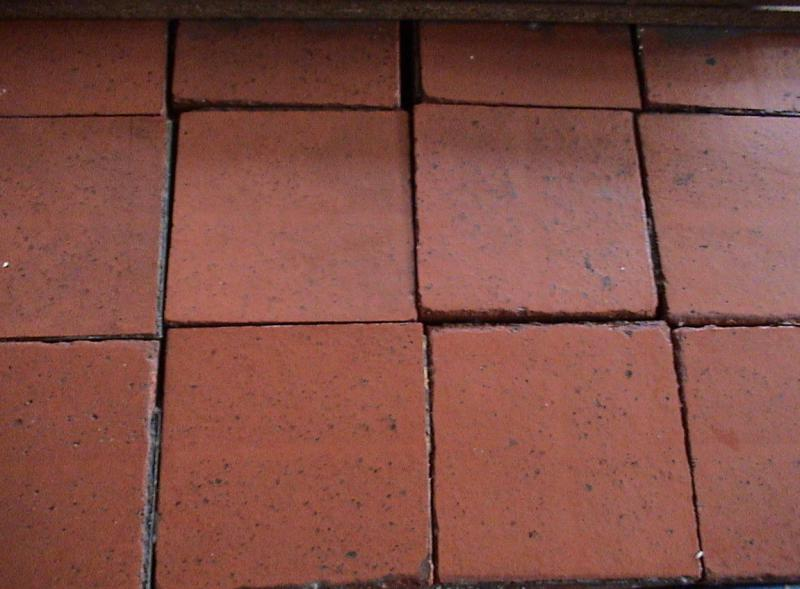 9 Inch X Red Quarry Tile